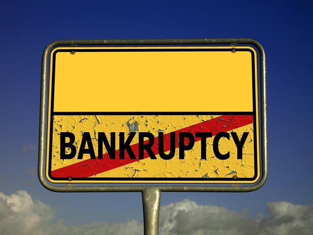 osobní bankrot